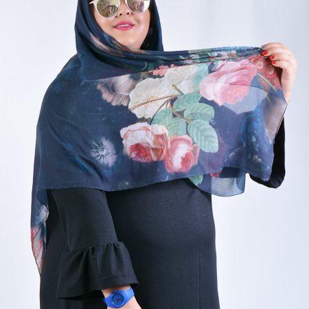 روسری گل